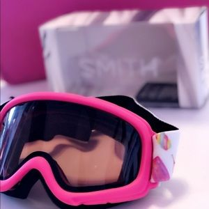 Smith Pink Popsicles ski goggles